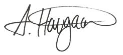 Anette Haugaard underskrift